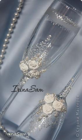 Мои новые свадебные бокалы фото 4