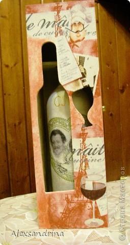 Футляр с бутылкой внутри. фото 3