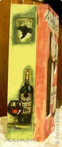 Футляр с бутылкой внутри. фото 4