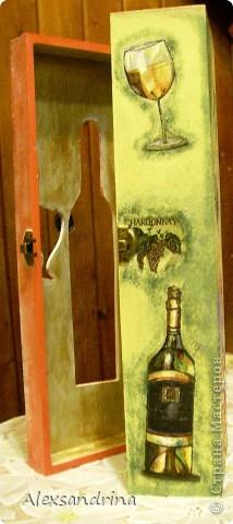 Футляр с бутылкой внутри. фото 6