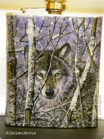 Подарок другу, который часто подолгу живет на даче один - одинокий волк...)) фото 1