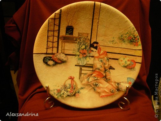 Японская тарелочка фото 2