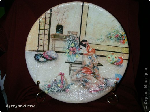 Японская тарелочка фото 1