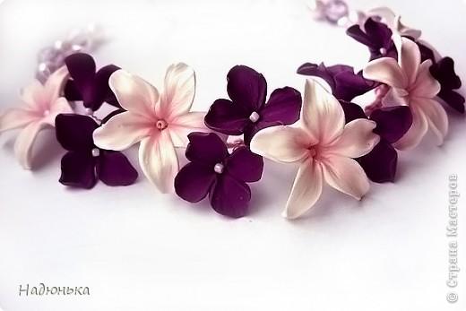 Украшения с цветами фото 2