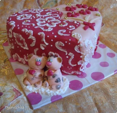 Тортик на годовщину свадьбы... фото 2