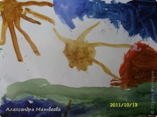 Сегодня старшая дочь порадовала своим рисунком, принесенным из школы фото 6