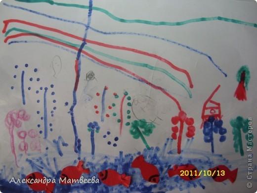 Сегодня старшая дочь порадовала своим рисунком, принесенным из школы фото 7