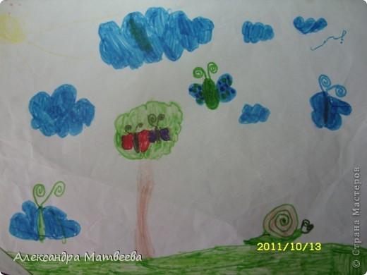 Сегодня старшая дочь порадовала своим рисунком, принесенным из школы фото 8