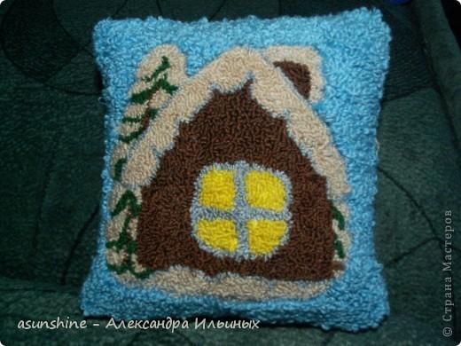 Мастер-класс Вышивка ковровая