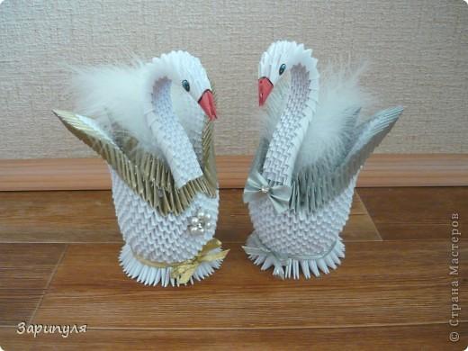 Лебедей я сделала по мастер классу http://stranamasterov.ru/node/47202?c=favorite фото 2