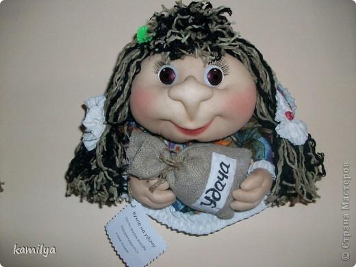 вот таких кукол сделала маме в подарок фото 3