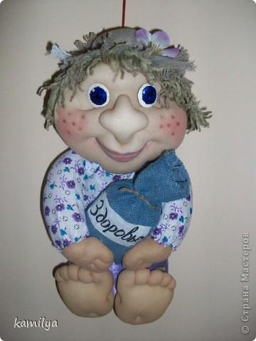 вот таких кукол сделала маме в подарок фото 2