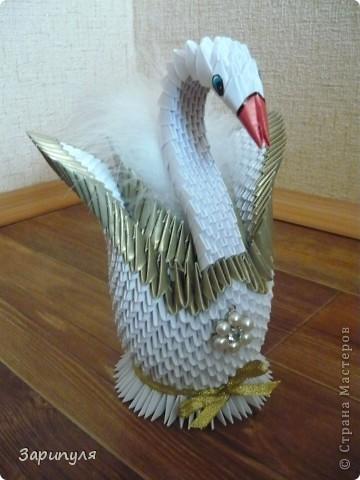 Лебедей я сделала по мастер классу http://stranamasterov.ru/node/47202?c=favorite фото 5