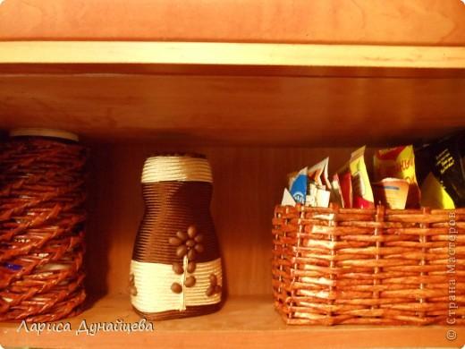 Моя баночка из под кофе и для кофе - повторюшка. Очень понравилась идея http://stranamasterov.ru/node/241407?c=favorite решила сделать себе такую же.  фото 3