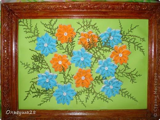 Оранжево-голубое настроение фото 1