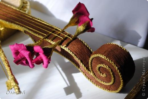 Скрипка получилась большая - 70 см в длину. фото 2