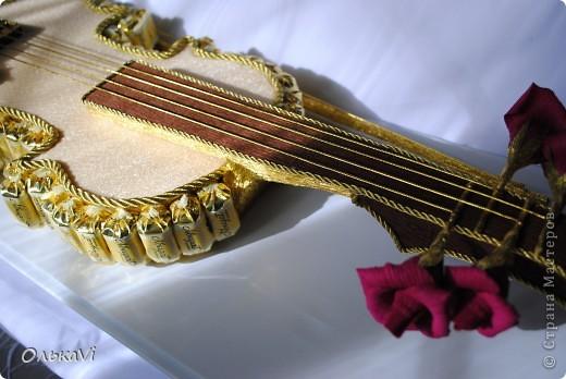 Скрипка получилась большая - 70 см в длину. фото 3
