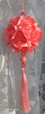 Всем привет!  Name: Sonobe variation Designer: Maria Sinayskaya Parts: 30 Paper: 7*7 cm Final height: ~8 cm Joint: no glue Бумага офисная фото 7