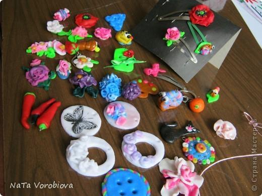 Образцы моих работ из пластики.Делаю для детей.