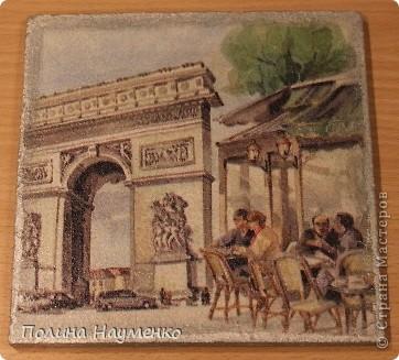 Четыре мини-картины про достопримечательности Парижа фото 4
