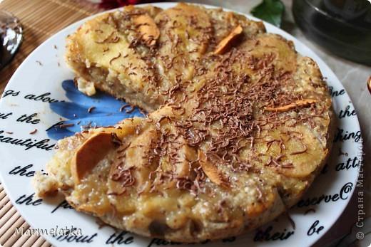 Грушевый пирог с орехами фото 1