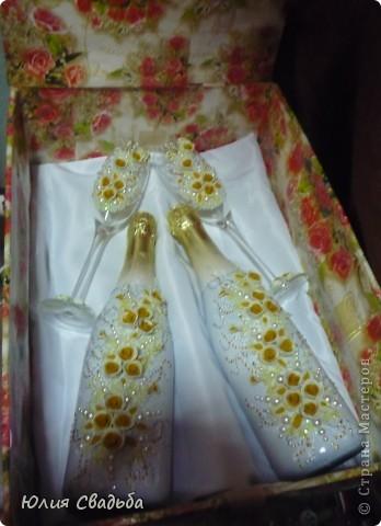 Невеста захотела чтоб в розочках присутствовал белый и жёлтый цвет.Вот что получилось. фото 4