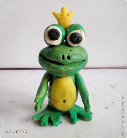 Лягушка поделка своими руками