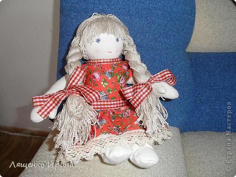Первая куколка в вальдорфском стиле. фото 1