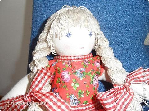 Первая куколка в вальдорфском стиле. фото 2