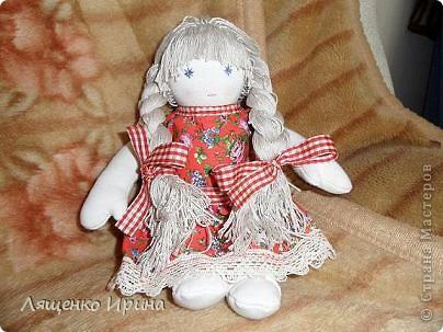 Первая куколка в вальдорфском стиле. фото 3