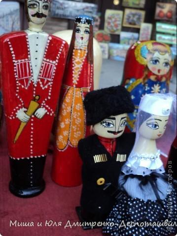 Продолжаем бродить по празднику города Тбилиси. На этот раз обратим внимания на куклы!  фото 2
