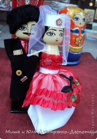 Продолжаем бродить по празднику города Тбилиси. На этот раз обратим внимания на куклы!  фото 4