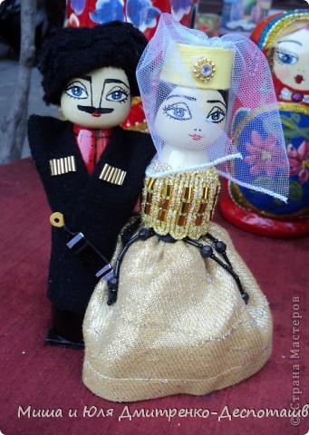 Продолжаем бродить по празднику города Тбилиси. На этот раз обратим внимания на куклы!  фото 5