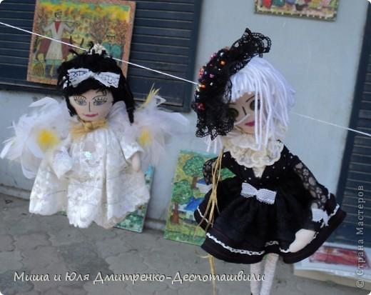 Продолжаем бродить по празднику города Тбилиси. На этот раз обратим внимания на куклы!  фото 6