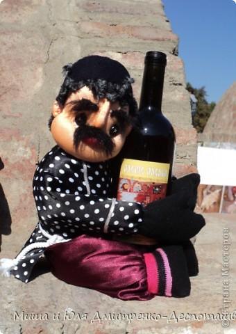 Продолжаем бродить по празднику города Тбилиси. На этот раз обратим внимания на куклы!  фото 15
