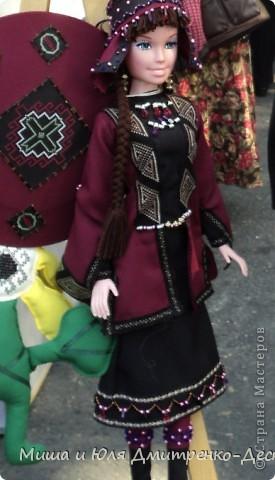 Продолжаем бродить по празднику города Тбилиси. На этот раз обратим внимания на куклы!  фото 14