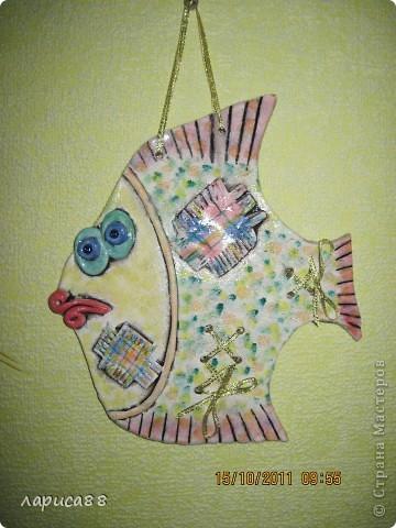 Скрап рыбка фото 1