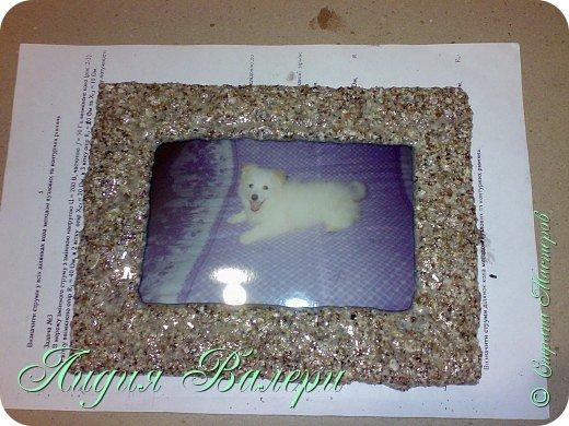 Хочу представить Вам свое творение в морском стиле. Рамочка сделана  из морских ракушек и песка. фото 18