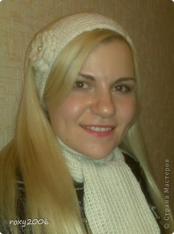 Осенняя пора! Наборчик: повязка и шарф. фото 2
