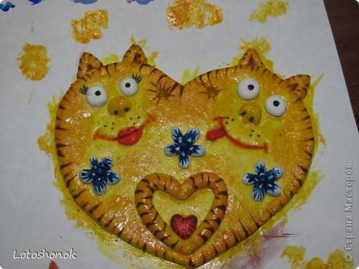 Котофейки! Вот такие влюбленные котики у меня получились! фото 3