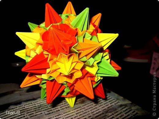 Разноцветный ежик фото 1