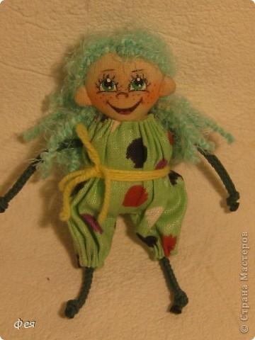 Нашила ещё стайку куклёшек для своих куклёшек:)   фото 5