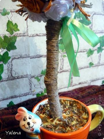 """Всем доброго времени дня!!! Дерево """"Осеннее""""- это мое второе дерево. Высота изделия 50см.  фото 6"""