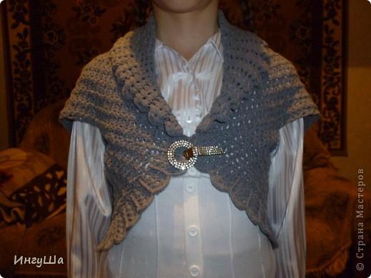 Болеро нитки Alize Puffy fine - около 150 гр, крючок № 3,5  по этой схеме  http://stranamasterov.ru/node/173515?c=favorite фото 2