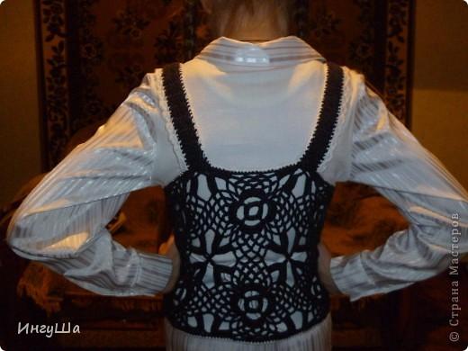 Болеро нитки Alize Puffy fine - около 150 гр, крючок № 3,5  по этой схеме  http://stranamasterov.ru/node/173515?c=favorite фото 6