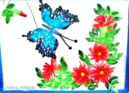 Вот какую картину сделали дети из моей группы с помощью воспитателя!)) (Возраст: 5-6 лет) фото 1