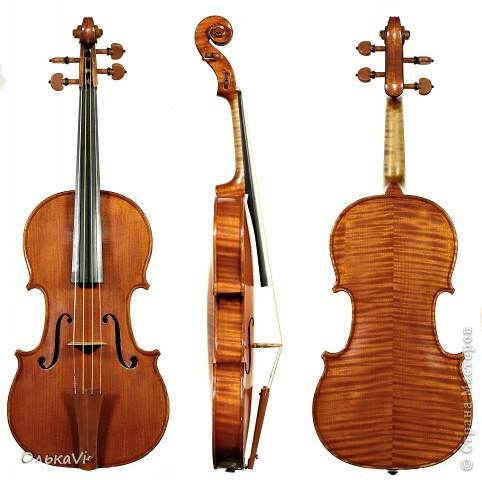 Скрипка получилась большая - 70 см в длину. фото 6