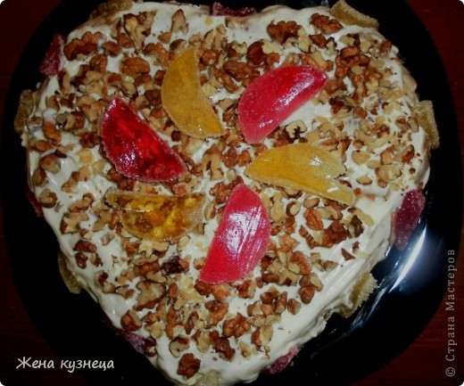Два пряничных тортика ко Дню Матери фото 2