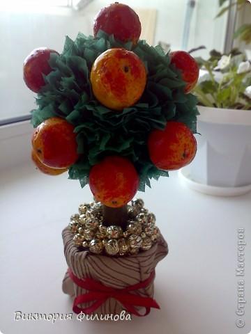 Спасибо большое Олисандре и её МК http://stranamasterov.ru/node/138019. Попыталась сделать что-то подобное дочке в садик на конкурс осенних поделок. Будем ждать, что скажет жюри :-)