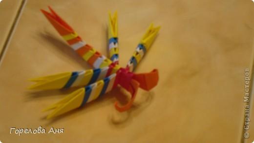 Техника оригами стрекоза!)
